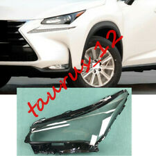 1pcs Left Side Clear Headlight Cover + Glue Replace For Lexus NX 2014-2018-JW