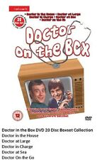 DOCTOR IN HOUSE ON THE BOX DVD SET COMPLETE COLLECTION Original UK Release R2