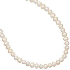 Echte Perlen-Halsketten & -Anhänger im Collier-Stil aus Sterlingsilber mit Süßwasser