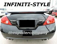 PRE-PAINTED ANY COLOR REAR SPOILER W/LED LIGHT FOR 2008-2013 NISSAN ALTIMA COUPE
