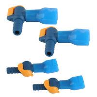 4x Hydration Pack Bladder Big Bite Tube Valve Nozzle Mouthpiece w/ Dust Cap
