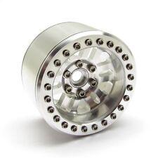 Gear Head RC 2.2 RubiComp Beadlock Wheels with Silver Rings (4) GEA1332
