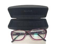 RED OR DEAD eyeglasses MOTTLED PURPLE RECTANGLE glasses frame