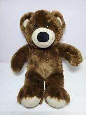 Build A Bear Dark Brown Classic Plush Teddy Bear 15� 2010 Lovey Babw