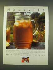 1990 Tetley Tea Ad - Honestea