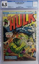 Incredible Hulk (1968) #180 CGC FN+ 6.5 Off White Pages 1st Cameo Wolverine