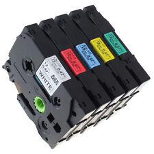 5X Schriftband-Kassette für Brother P-Touch 1010 1000 PT-E550W TZ231 TZ-231 431