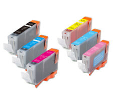 6 New Ink Pack w/ smart chip for Canon CLI-8 PC PM iP6600D iP6700D