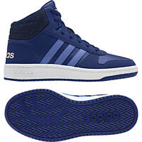the best attitude 94796 f08c1 Adidas Kids Shoes Boots Hoops Mid 2 Sporty Sneaker Girls Boys Fashion  B75748 New