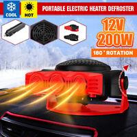 12V 200W Car Portable Electric Heater Heating Cooling Fan Defroster Demister