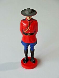 """Vintage Reliable Plastic Canadian Royal Mounted Police Figure 8"""" Tall 8848"""