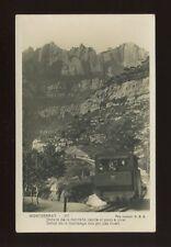 Spain MONTSERRAT Mountain Railway engine #5 c1920/30s? RP PPC