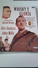 "DVD ""WHISKY Y GLORIA"" COMO NUEVA RONALD NEAME ALEC GUINESS JOHN MILLS"