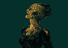 Framed Print - Star Trek Borg Queen (Picture Voyager Next Generation Enterprise)