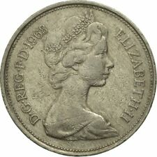 [#546142] Coin, Great Britain, Elizabeth II, 10 New Pence, 1968, VF(20-25)