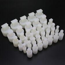 70Pc High Temp Ribbed Silicone Plug Kit 6-28mm Holes - For Masking & Coating