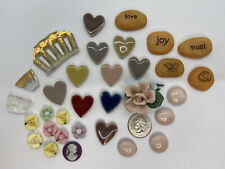 Mosaic Embellishments ~ Roses, Glass Pebbles, Resin Stones, And Hearts