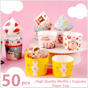 High Quality Coloured Muffin Paper Cupcake Cases Baking Cup Cake Case