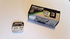 1x Pila Boton Maxell 379 - SR521SW - V379 - 1,55V