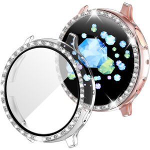 For Samsung Galaxy Watch Active 2 40/44 mm Protector Cover Hard Case with Screen