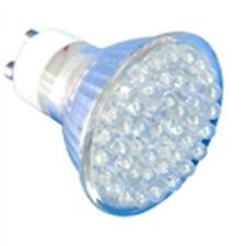 "LAMPE GU10 JAUNE ""45 LEDs FLOOD"", 3W, 230V, 585°K, 120°, 84LM"