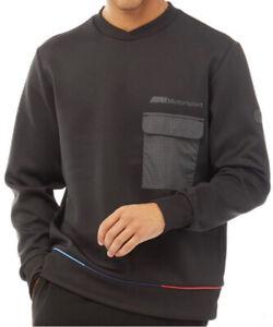 Puma x BMW Motorsport Collab Mens V Neck Sweatshirt Black Sizes new