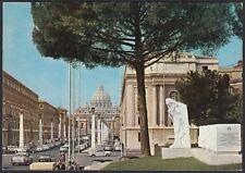AA5893 Roma - Città - Via della Conciliazione - Cartolina postale - Postcard