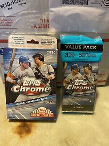 Group Break 2020 Topps Chrome MLB Sealed 3 Pk And HangTeam Random 30 Spots Auto?