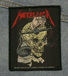 Metallica Harvester of sorrow sew  on patch retro Official merchandise