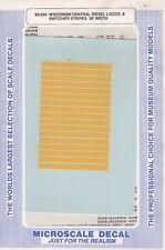 60-534 Wisconsin Central Diesel Locos & Switcher Stripes 30' Width