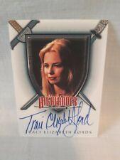 Highlander Traci Elizabeth Lord auto card  A5
