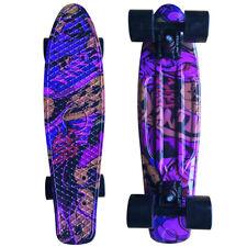 22 Cruiser Skateboard Penny Style Board Graphic Skull Free Shipping