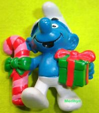 51909 Schtroumpfettte chant de noel smurf puffo pitufo  schtroumpf christmas
