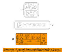 FORD OEM Labels-Decal sticker DG9Z1503050A
