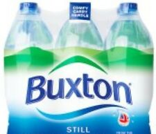 12 x BUXTON MINERAL WATER STILL 1 LITRE - 24 h DELIVERY