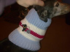 Greyhound Footie Snood Knitting Pattern / make in your team colours