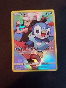 Piplup - 239/236 - Secret Rare - Pokemon Cosmic Eclipse!