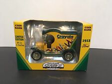 CRAYOLA COIN BANK FORD 1912 COLLECTOR'S SERIES