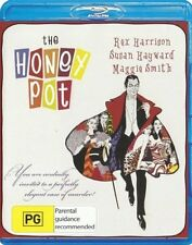 THE HONEY POT (1967 Rex Harrison) - BLU RAY Sealed Region B & for UK