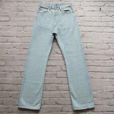 Levis LVC 701 Big E Selvedge Denim Jeans Size 28 Hidden Rivets Sample