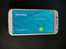 New listing Motorola Moto X 1st Generation Xt1053 Unlocked Blue Cracked Screen