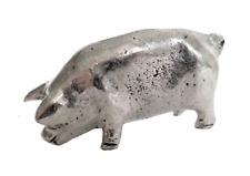 Pig Pewter Ornament - Hand Made in Cornwall