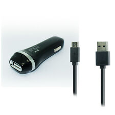 2.1A Car Charger+USB Cable Cord Wire for Verizon Motorola Droid Turbo XT1254