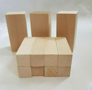 Lime Wood Hand Carving Blanks Blocks. 11 Piece. Basswood Linden. Two sizes.