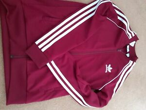 Adidas Boys Age 11 To 12 TRACKSUIT TOP