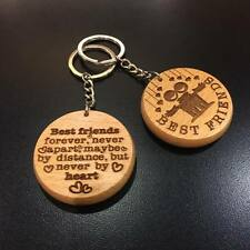 BEST FRIENDS FOREVER Gifts for friend Keyring Keychain him men birthday