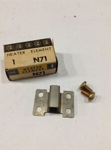 N71 Allen Bradley heater element