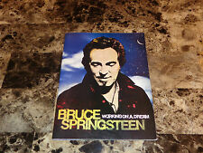 Bruce Springsteen Rare Authentic Label Promo Lyric Book 2009 Working On A Dream