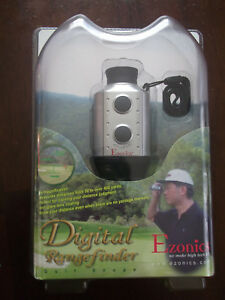 EZONICS EZ-628 DIGITAL RANGE FINDER GOLF SCOPE NIB FREE SHIPPING