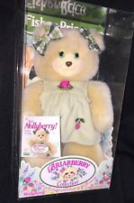 1998 Fisher Price Briarberry Collection MOLLYBERRY Plush Bear NEW In Box